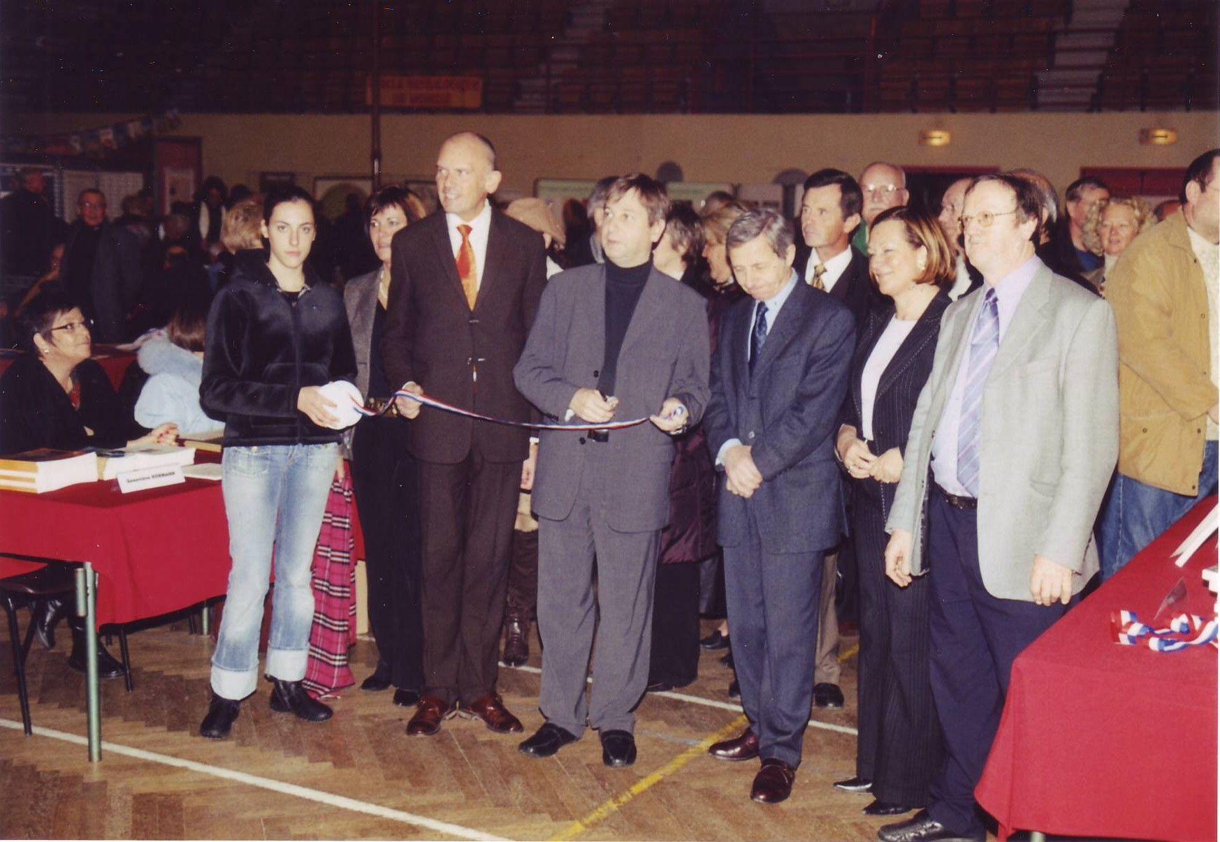 André Kaspi inaugure le Salon 2005