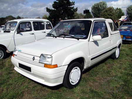 renault super 5 belle ile pickup 1989 1990 nesles retro expo 2011 1