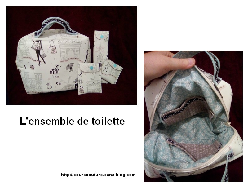ensemble de toilette