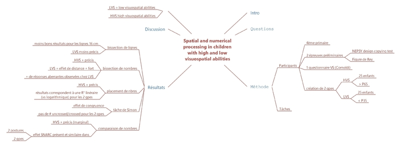 spatial and numerical processing in children with high and low visuospatial abilities 2