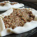 Pizza turecka/ pizza à la turque