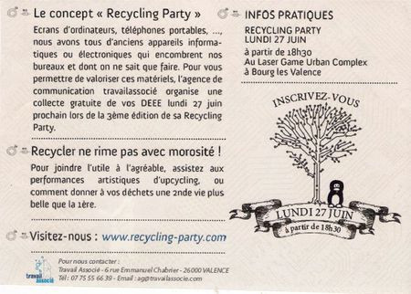 Recycling Party 20001