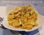 salade de seoule aux abricots