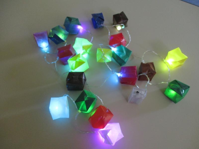 Pour fabriquer une guirlande lumineuse ime les grillons - Fabriquer une guirlande lumineuse ...