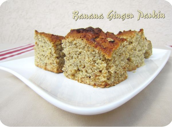 banana ginger parkin (scrap)