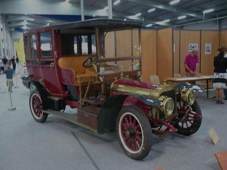 CLEMENT BAYARD coupé chauffeur 1907 Besançon (1)