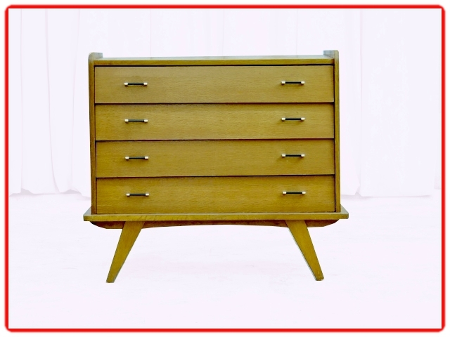 commode vintage atypique 1960