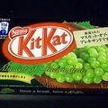 Kitkat au muscat d'alexandrie.