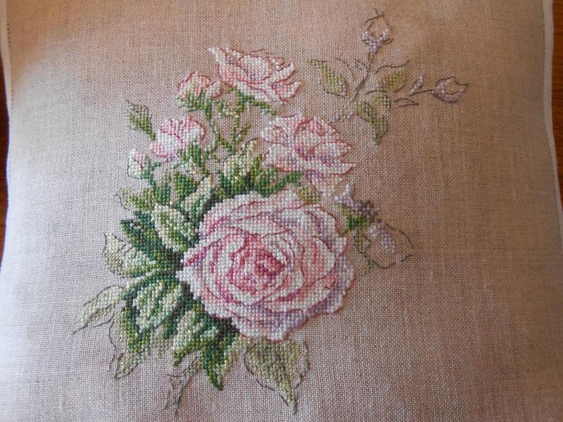 coussin La rose cassée 6