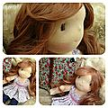 Poupée waldorf version déa doll disponible