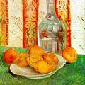 Van Gogh - Nature morte carafe et citrons