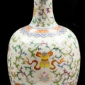 Chinese vase soars ten times above estimate in uk auction