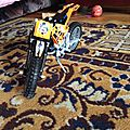Lego technic la moto orange