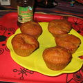 Nonettes-muffins à la confiture orange/citron vert ETHIQUABLE by Lisanka :-)