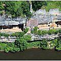 Le village troglodytique de la madeleine et l'abri de la madeleine ( tursac 24 dordogne)