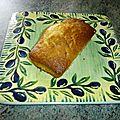 cake au citron à l'huile d'olive
