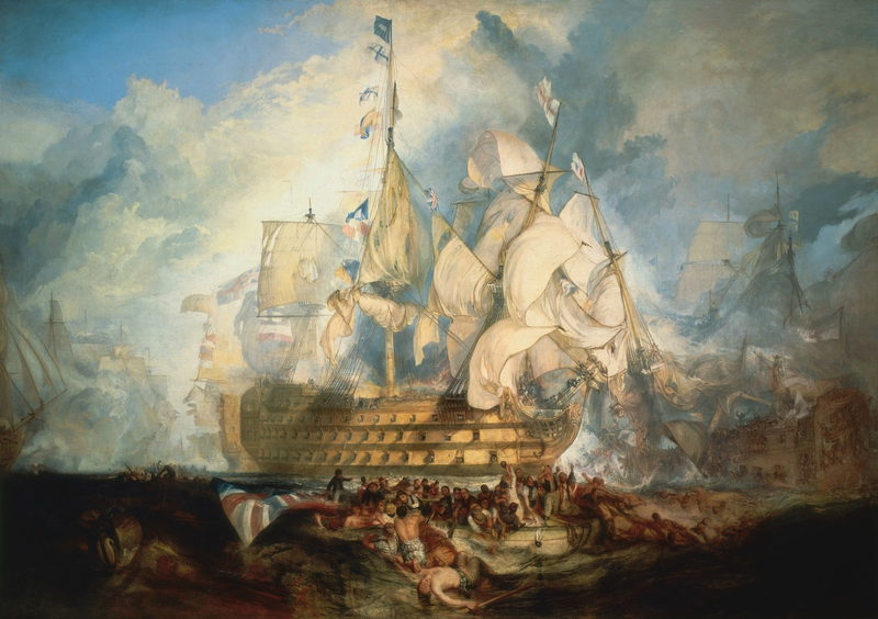Turner-The-Battle-of-Trafalgar-nelson