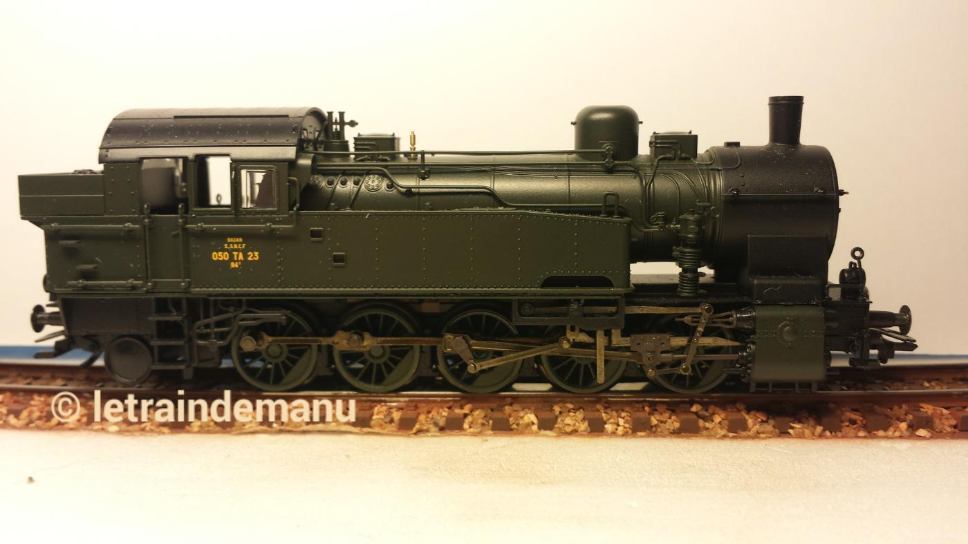 Première locomotive pour la compagnie