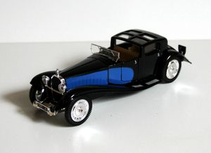 Bugatti royale coupé de ville de 1928 (Collection presse)(1