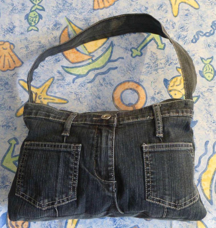 Nouveau sac à main en jean - Les Ateliers Créatifs de Petite ...