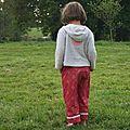 pantalon fillette