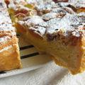 Tarte amandes/abricots