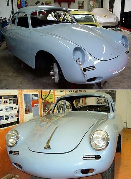 PORSCHE - 356 B Racing - 1962