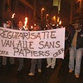 2006 - Manif a ANVERS Quartier generale de l'extreme droite flamande