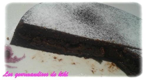 fondant chocolat caramel