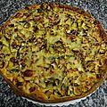Tarte aux poireaux de la boulangerie delbasse
