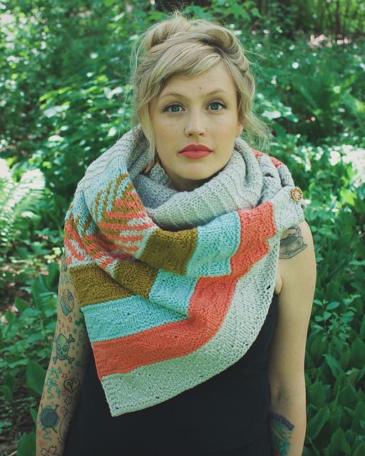 Om Shawl by Andrea Mowry photo1