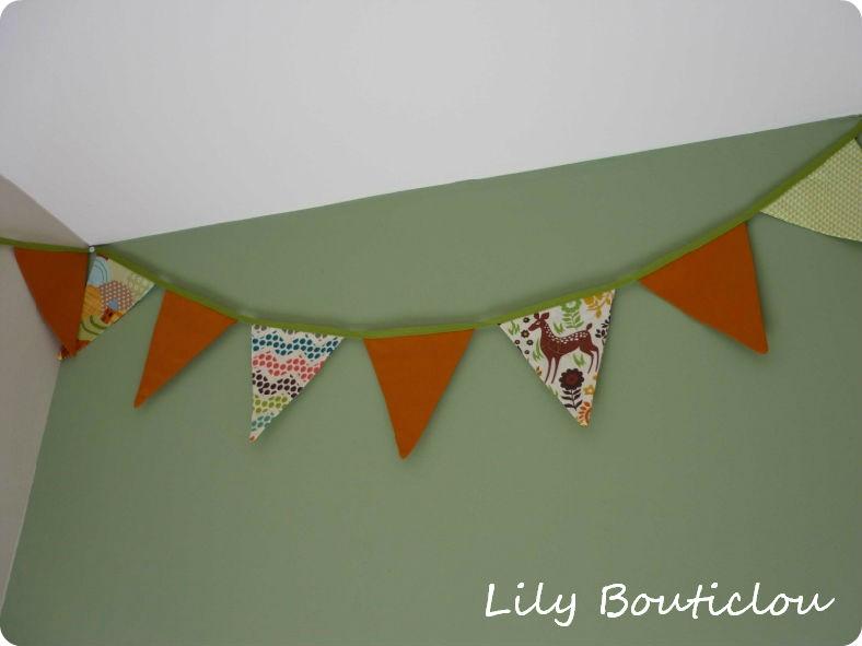 Guirlande fanions Lily bouticlou