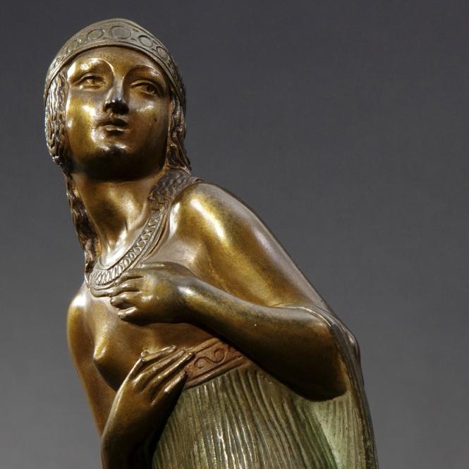 art deco statuette femme-bronze-3aan