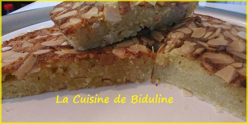 Fondant aux amandes - La Cuisine de Biduline