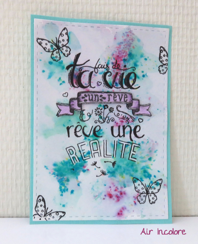 dream life card. Carte pour vivre ses rêves. par Air Incolore
