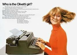 mid century ads olivetti