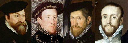 Portraits anglais de 1562 à 1565