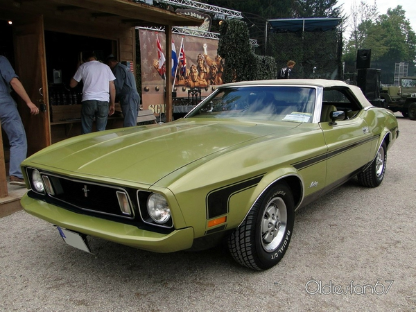 ford mustang convertible 1973 a