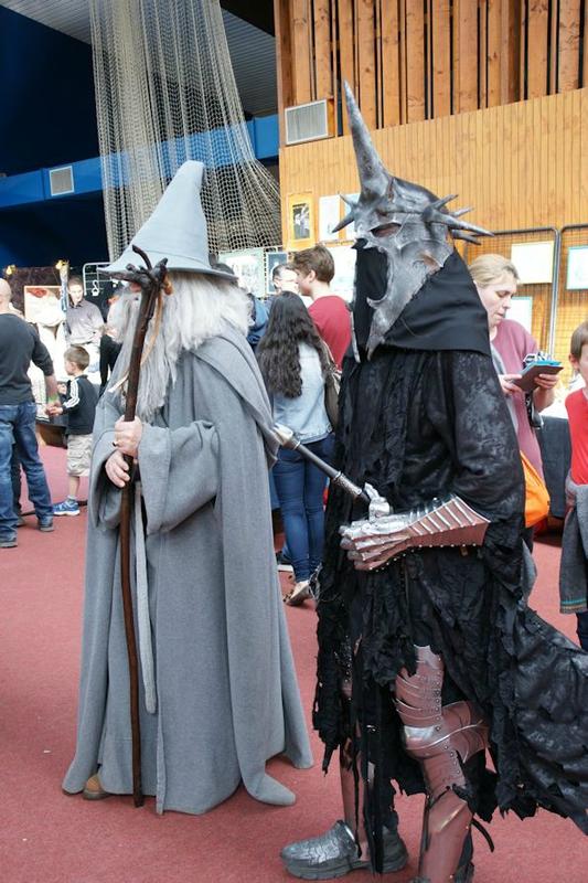 Gandalf et Sauron