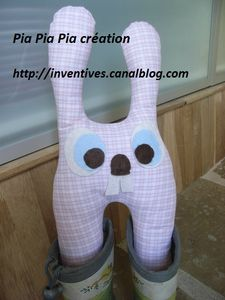 range-bottes lapin - création Pia Pia Pia