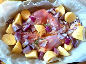 Cuisses de poulet vite fait (crues)