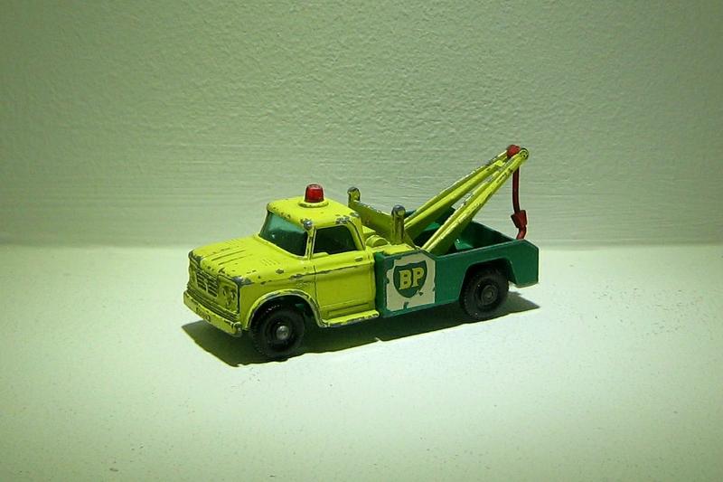 Dodge wreck truck (ref 13)(Matchbox)