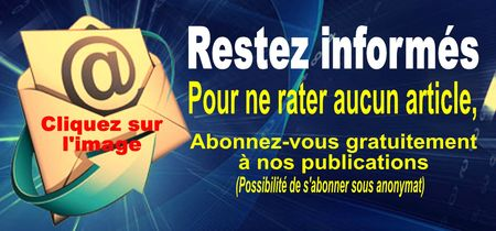 abonnement Newsletter blog JENB Productions