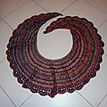 Crescent moon shawl ...