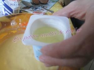 Gateau au yaourt , lemon curd & framboises12