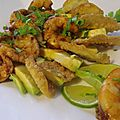 Avocat-crevettes façon brice morvent