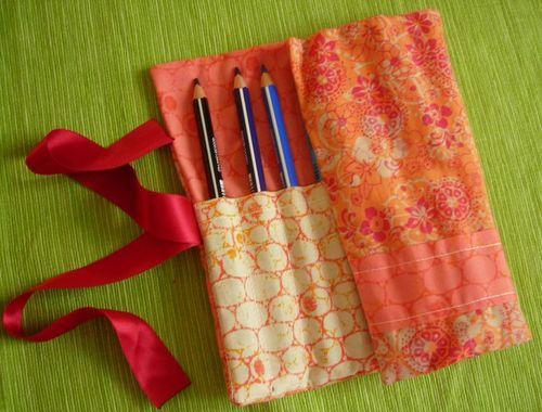 Trousse pour crayons de couleurs
