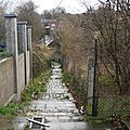 Wasmes - Rue Clémenceau - escaliers 2