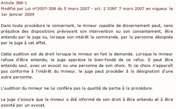 Article 388-1 du code civil