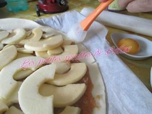 Feuilletée aux pommes14